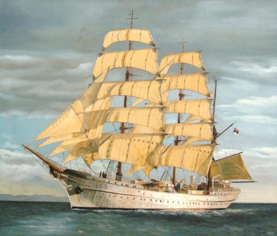 stari jedrenjak (Medium)