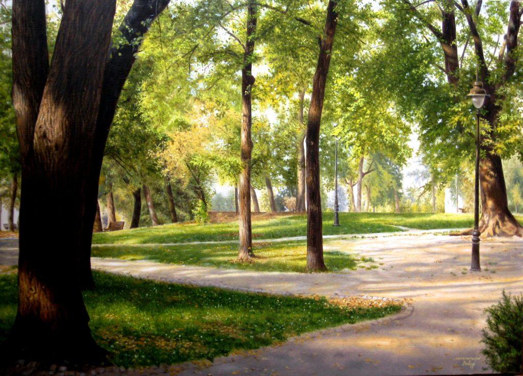 kalemegdanski park - sinisa labus slika